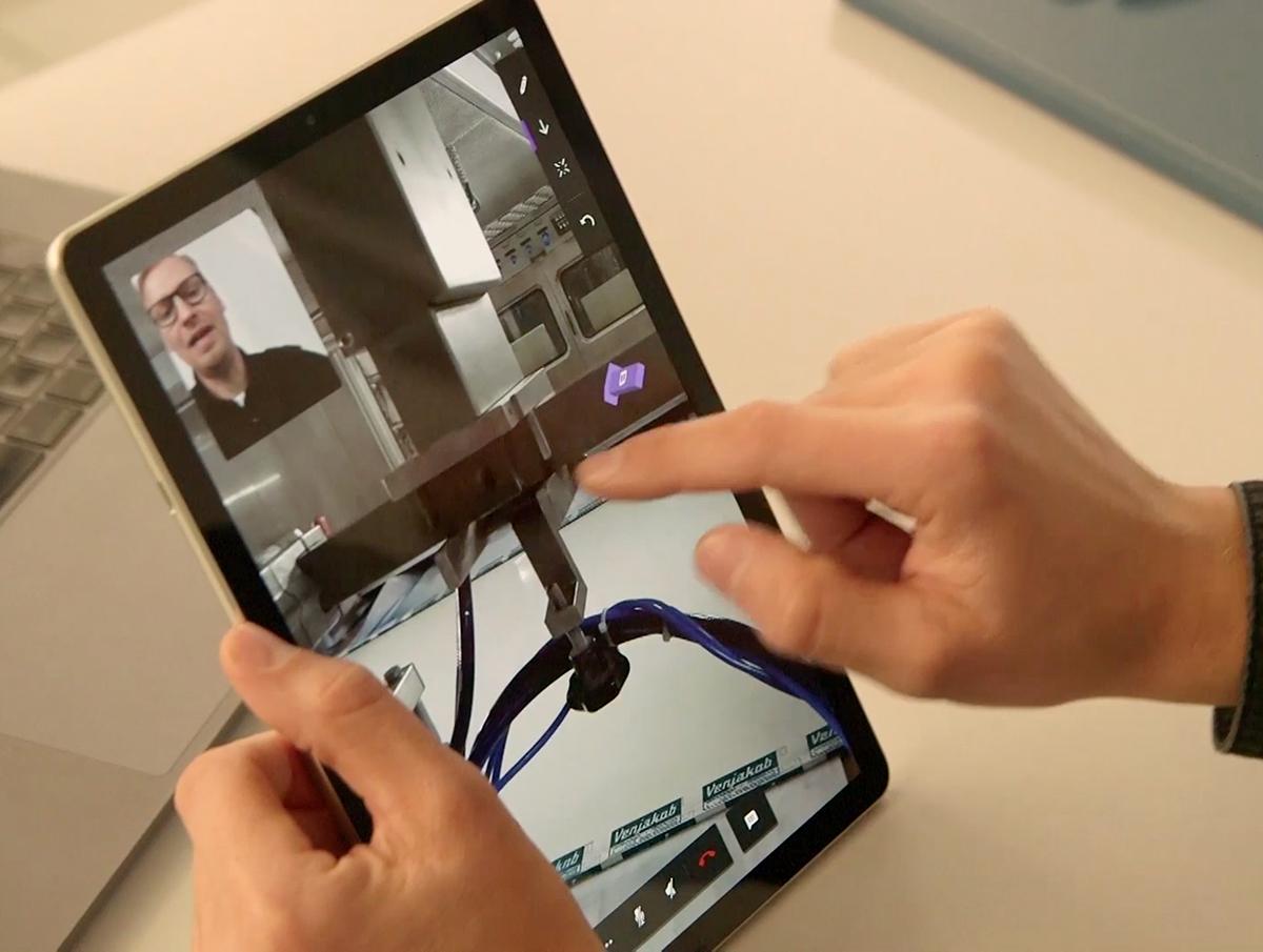 Venjakob AR Service Tablet