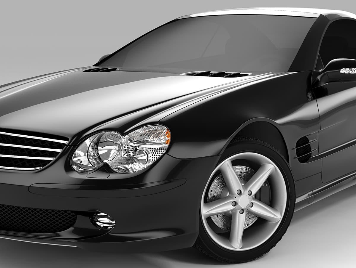 Abbildung Automobil Exterieur