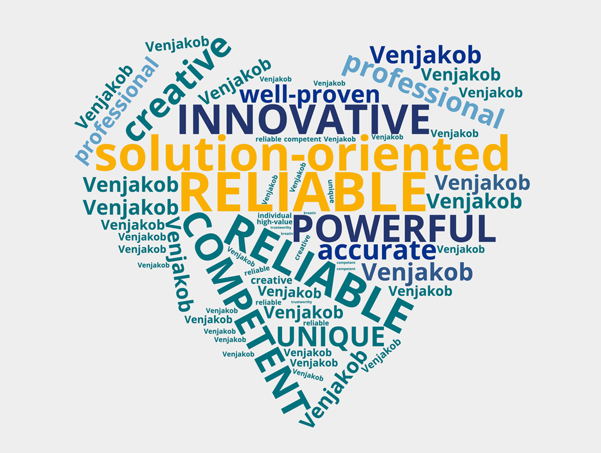 Venjakob wordcloud