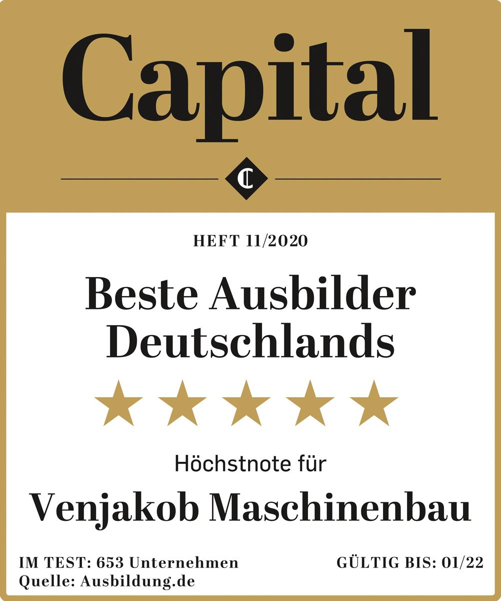 Auszeichnung Capital Beste Ausbilder Deutschlands