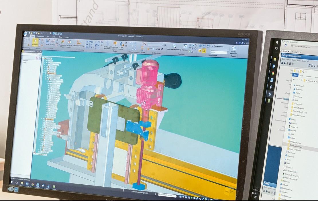 Abbildung Projektierung Bildschirm