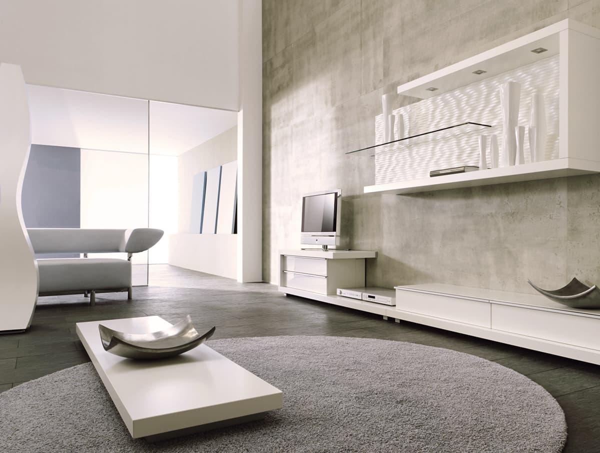 Wohnzimmer möbiliert