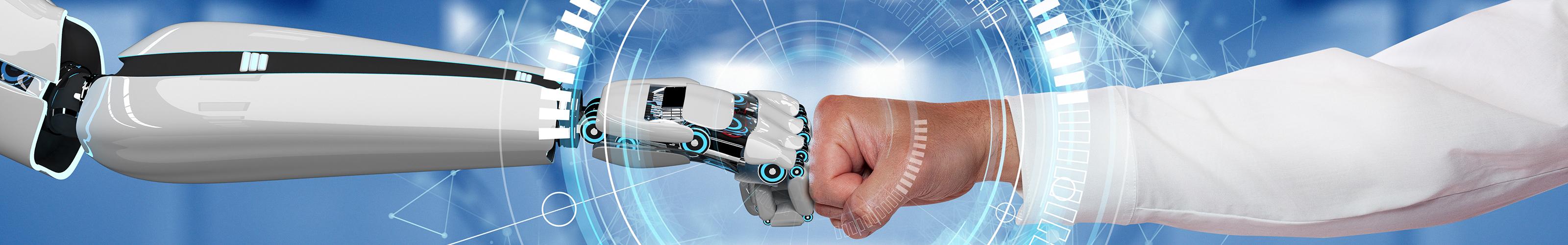 Roboter - Mensch