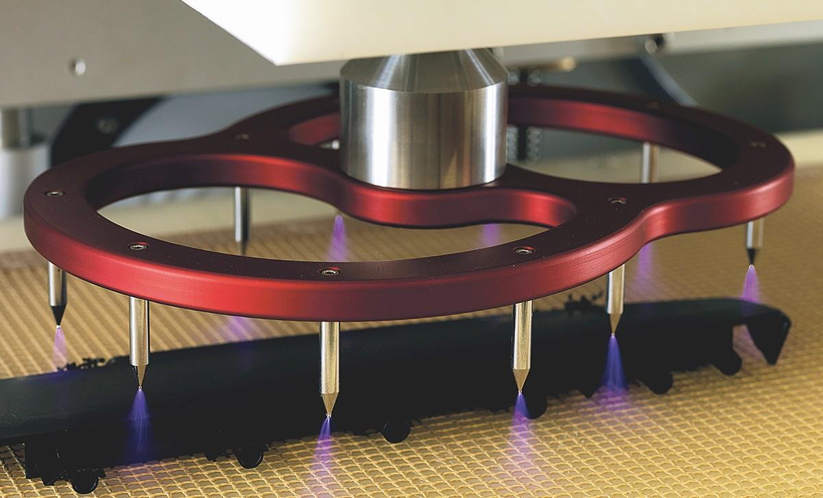 Abbildung Aktivierungsverfahren Plasma