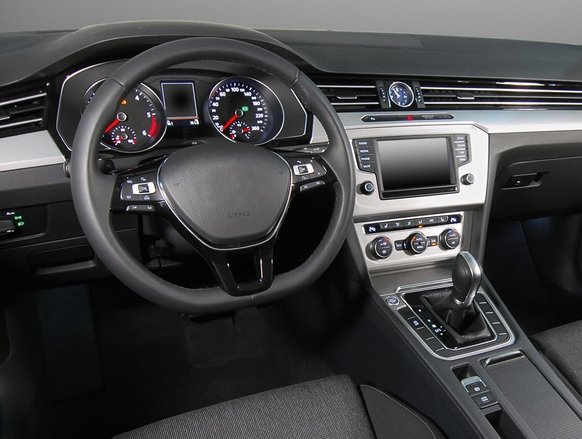 Picture inside car automotive interieor
