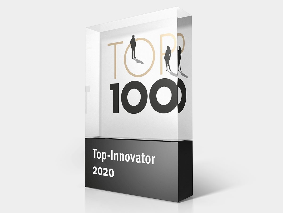 Top 100 Innovator Auszeichnung