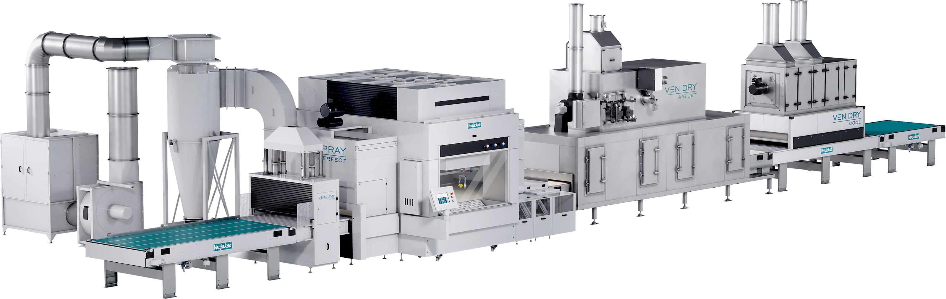 Picture coating machine insulating materials